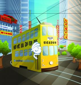 Captain hong kong tram-01