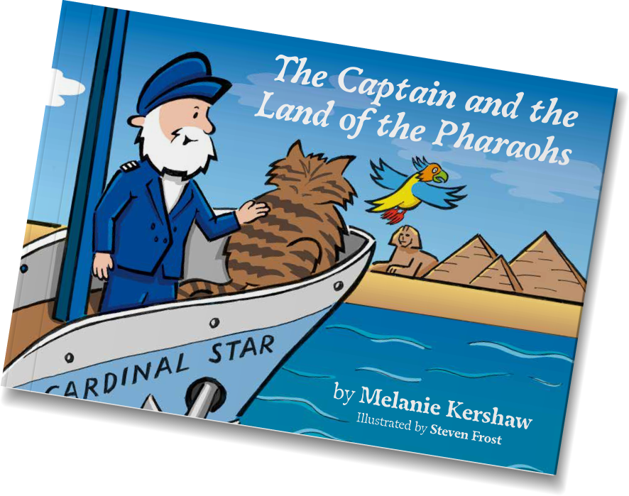 The Captain and the Land of the Pharaohs cover